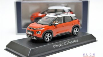 2017 Citroen C3 Aircross leaked ahead of 12 June debut