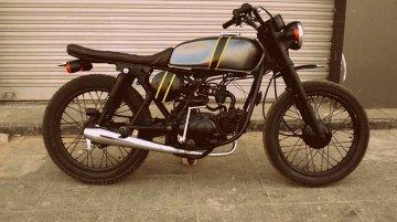 Hero Honda CD Deluxe 'Tracker' by Ayas Custom Motorcycle