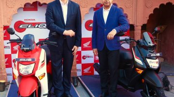 Honda Cliq launched in India at INR 42,990