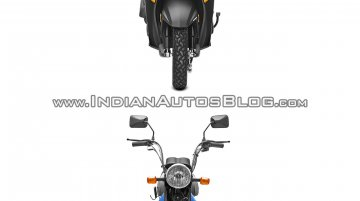 Honda Cliq vs. TVS XL 100 - Spec sheet & Pictorial comparison