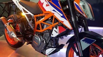 India-made Special Edition KTM Duke 390 showcased in Philippines