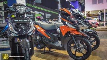 Suzuki Address Playful showcased at Jakarta Fair 2017