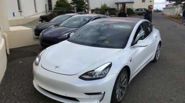 Tesla Model 3 exterior & interior detailed in new spy shots