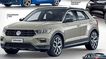 VW T-Roc final design allegedly leaked ahead of IAA 2017 debut - Report