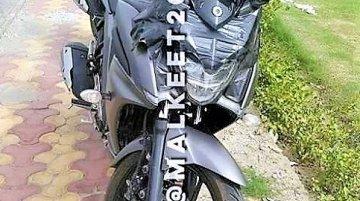 Yamaha Fazer 250 (Yamaha Fazer 25) headlamp clearly revealed