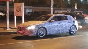 IAB reader spots the next-gen 2018 Mercedes A Class in Dubai