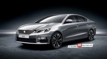 Next-gen 2018 Peugeot 508 - Rendering