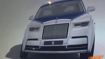 2018 Rolls-Royce Phantom leaked via Chinese brochure scans