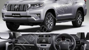 2018 Toyota Prado (facelift) expected in the Middle East by year-end - Report