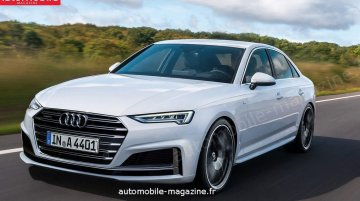 2019 Audi A4 (facelift) to get a sportier design - Rendering