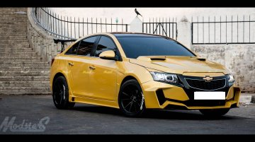 Chevrolet Cruze Project 'Yellow Transformer' - In Images