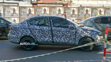 Fiat X6S (Fiat Linea successor) spied in production body