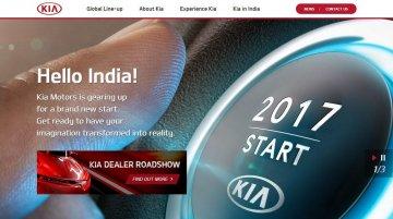 Kia launches Indian website, announces dealer roadshow