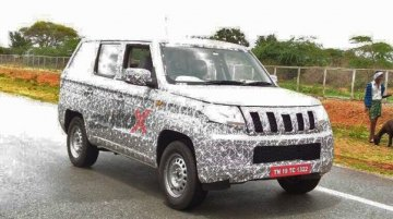 Mahindra TUV500 spotted in Pondicherry [Update]