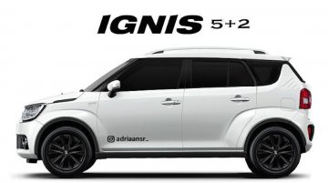 How about a three-row Maruti Ignis variant?
