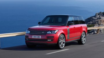 Range Rover SVAutobiography launched in India at INR 2.79 Crore