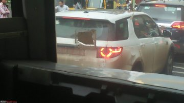 Tata Q501 SUV spotted on test in Pune