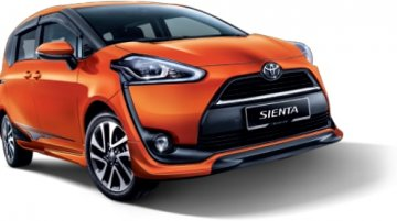 Toyota Sienta aero kit package introduced in Malaysia