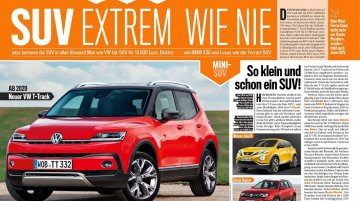 Entry-level VW T-Track crossover to launch in 2020 - Report