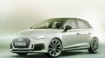 Spanish-made second-gen 2018 Audi A1 Sportback rendered