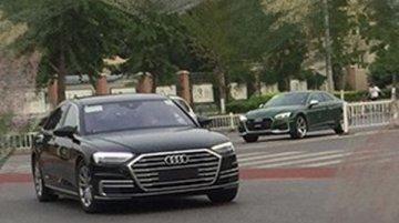 2018 Audi A8 L continues testing in China
