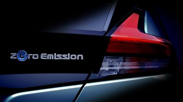 New 2018 Nissan Leaf teaser officially reveals tail lamp design