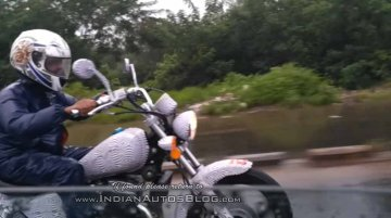 Benelli MotoBi-250 Patagonian Eagle spotted in India again