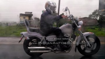 IAB reader spots the Benelli MotoBi-250 cruiser for the first time in India