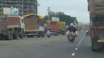 Benelli Zafferano 250 scooter spied in India by IAB reader