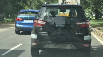 Ford EcoSport 2017 Spy Pictures