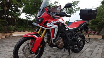 Honda Africa Twin Manual not coming to India - Report