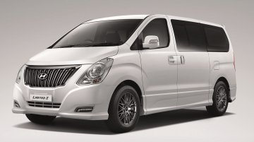 Hyundai H-1 Limited II to launch in Thailand this month [Update]