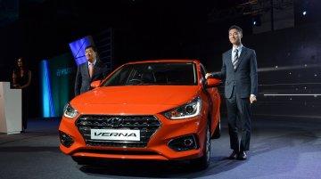 Hyundai Verna 2017 launched at INR 799,900