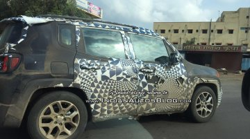 IAB reader spots another Jeep Renegade on test