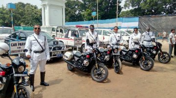 Kolkata Police add the Harley Davidson Street 750 to their fleet - Report