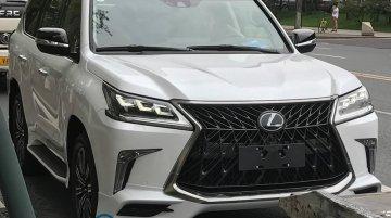 Lexus LX 570 Superior - Image Gallery (Spy Shots)