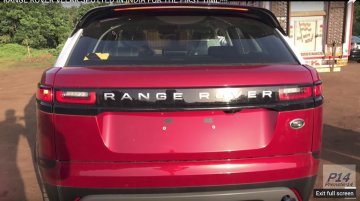 Range Rover Velar spotted in India for the first time