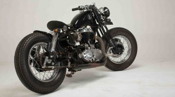 Royal Enfield Classic Desert Storm 'Indori' by KR Customs