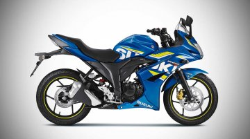 Suzuki Gixxer SF ABS launched in India at INR 95,499