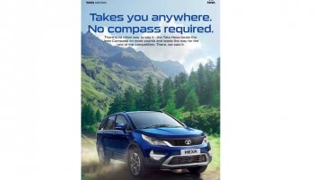 Tata Motors takes a dig at the newborn Jeep Compass