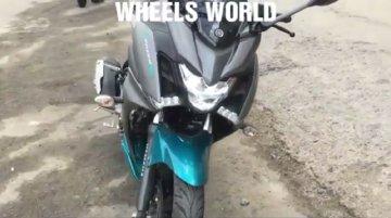 Yamaha Fazer 250 spied again, reveals more details