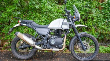 Royal Enfield Himalayan FI - In 9 live images