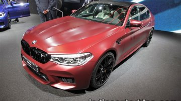 2018 BMW M5 First Edition showcased at IAA 2017 - Live