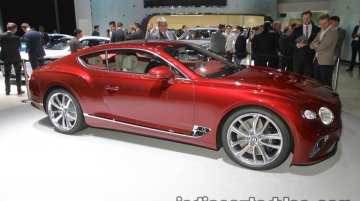 2018 Bentley Continental GT showcased at IAA 2017 - Live