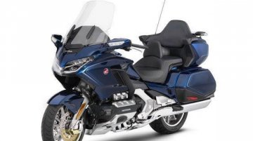 2018 Honda Goldwing leaked in 5 images