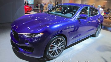 2018 Maserati Levante showcased at IAA 2017 - Live