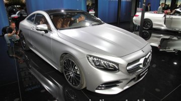 2018 Mercedes S-Class Coupe & Cabriolet - IAA 2017 Live [Update]