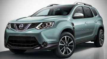 2018 Nissan Terrano based on the 2018 Renault Duster - Rendering