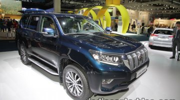 2018 Toyota Land Cruiser Prado showcased at IAA 2017 - Live