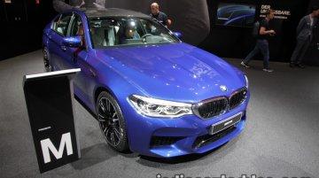 2018 BMW M5 - IAA 2017 Live